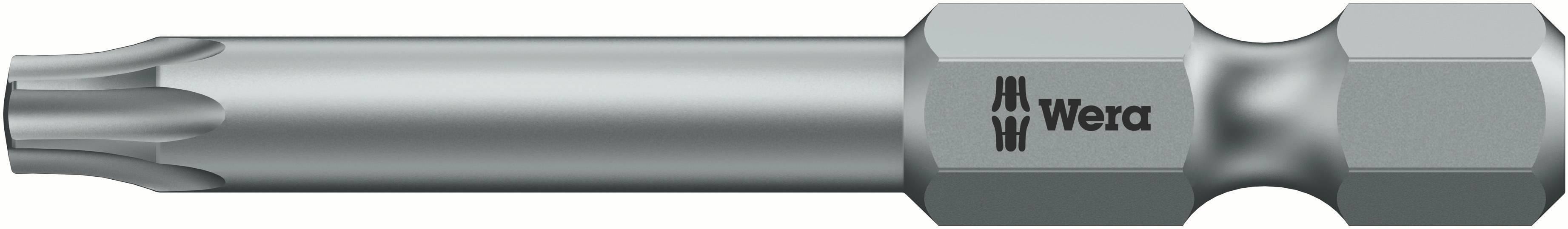 Bit Torx Wera 867/4 Z TORX® BO 25 X 89 MM 05060053001, 89 mm, nástrojová oceľ, legované, 1 ks