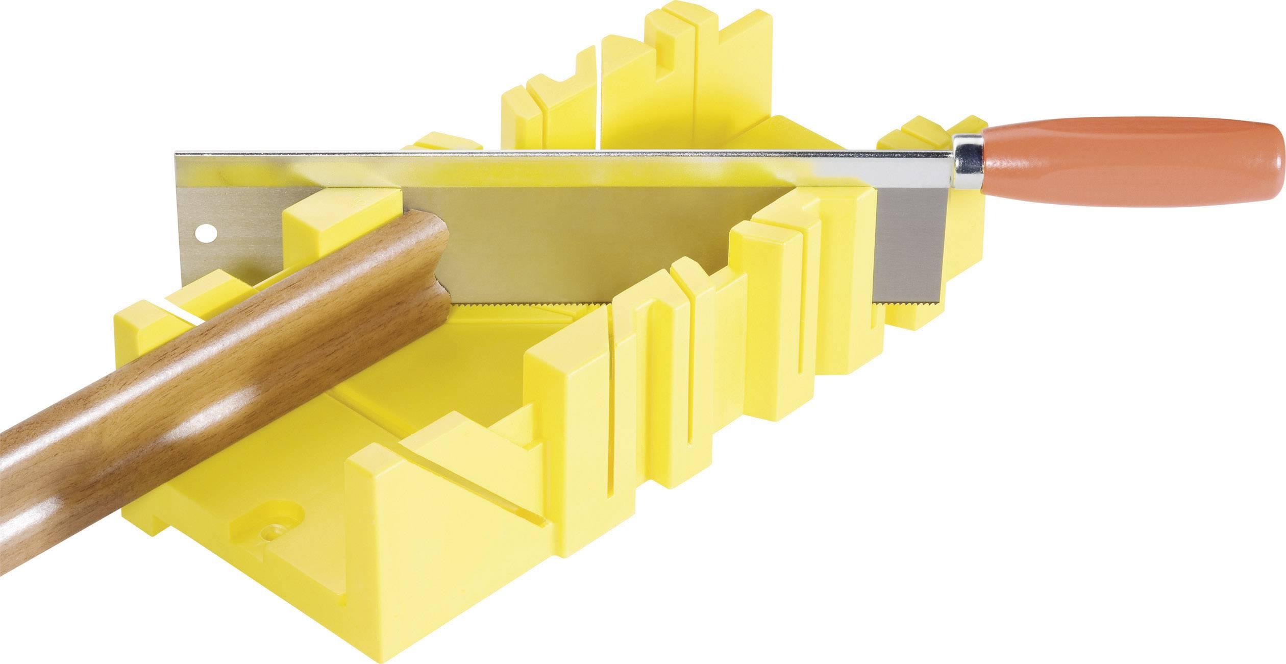 Plastová pokosová šablona Basetech, 300 mm