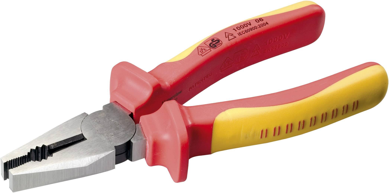 Kombinované VDE kleště Toolcraft, 160 mm