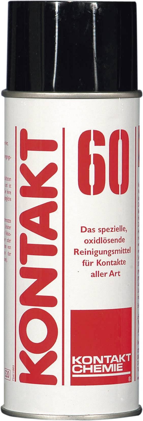 Čistiaci prostriedok pre kontaktné plochy CRC Kontakt Chemie KONTAKT 60 70009-AA, 200 ml