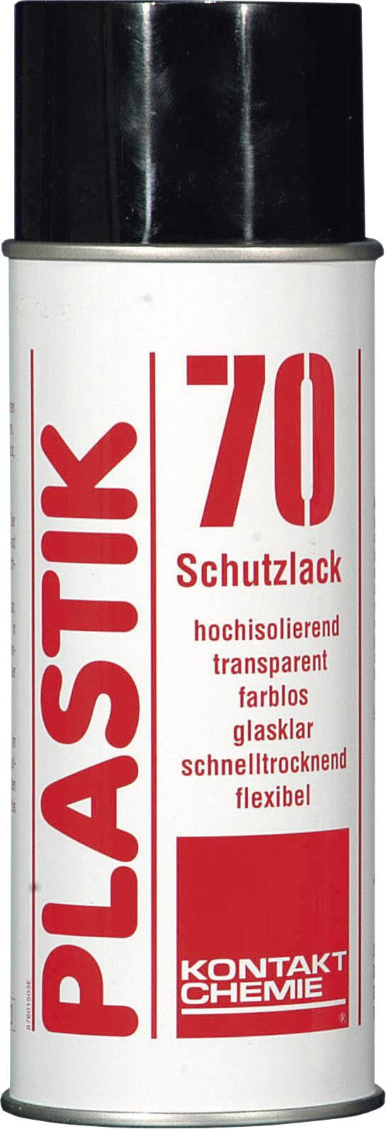 Izolační a ochranný lak na DPS CRC Kontakt Chemie PLASTIK 70 74309-AA, 200 ml