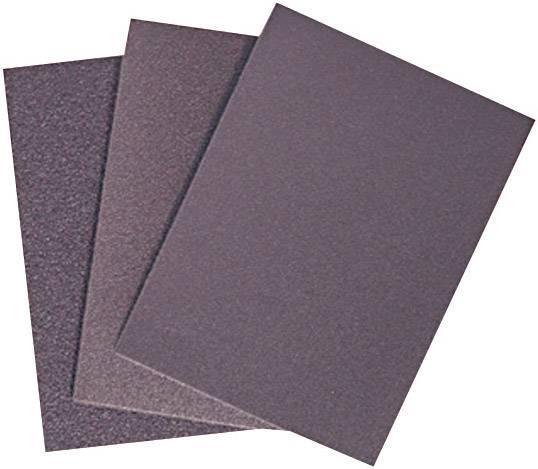 Brusný papír, 55 x 75 mm, zrnitost 80, 25 ks