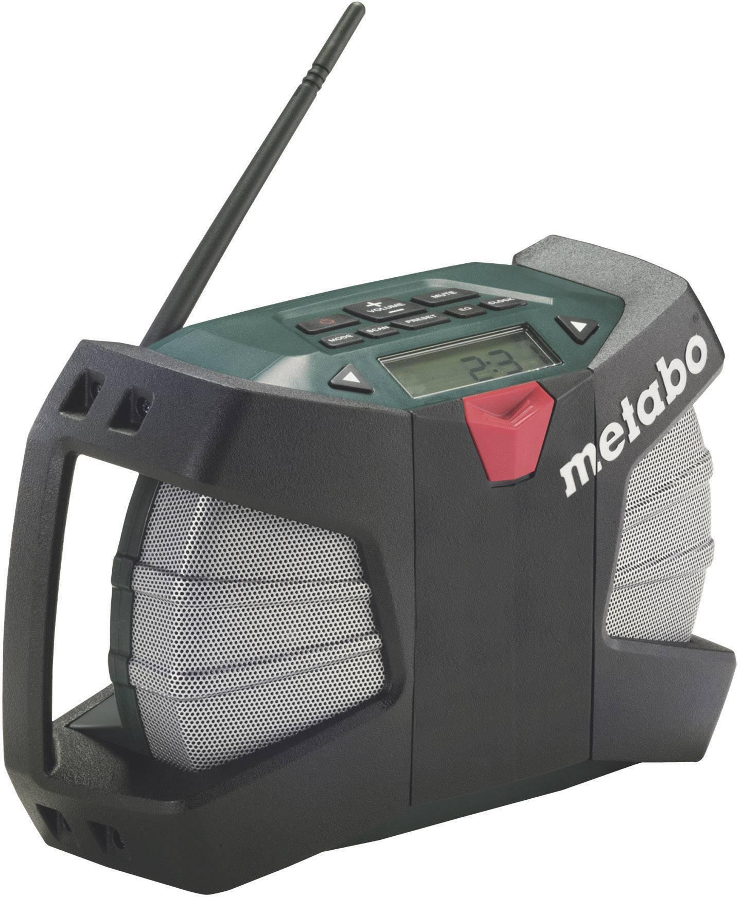 FM outdoorové rádio Metabo PowerMaxx RC 60211300 čierna, zelená