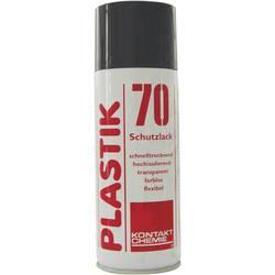 Izolační a ochranný lak na DPS Kontakt Chemie PLASTIK 70 74313-AA, 400 ml
