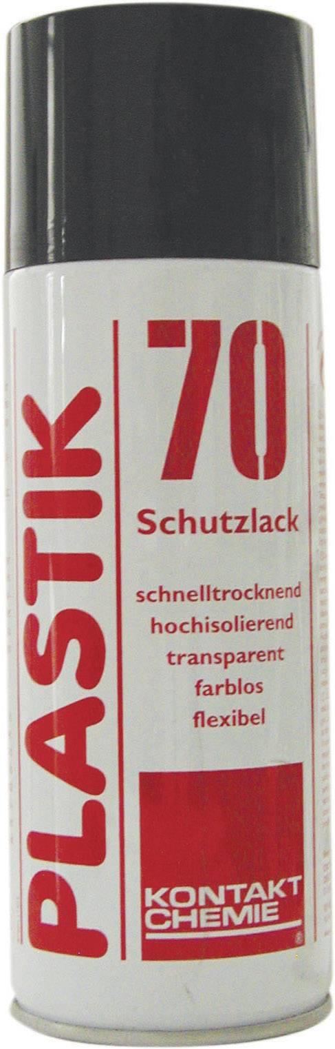 Izolačný a ochranný lak na DPS CRC Kontakt Chemie PLASTIK 70 74313-AA, 400 ml