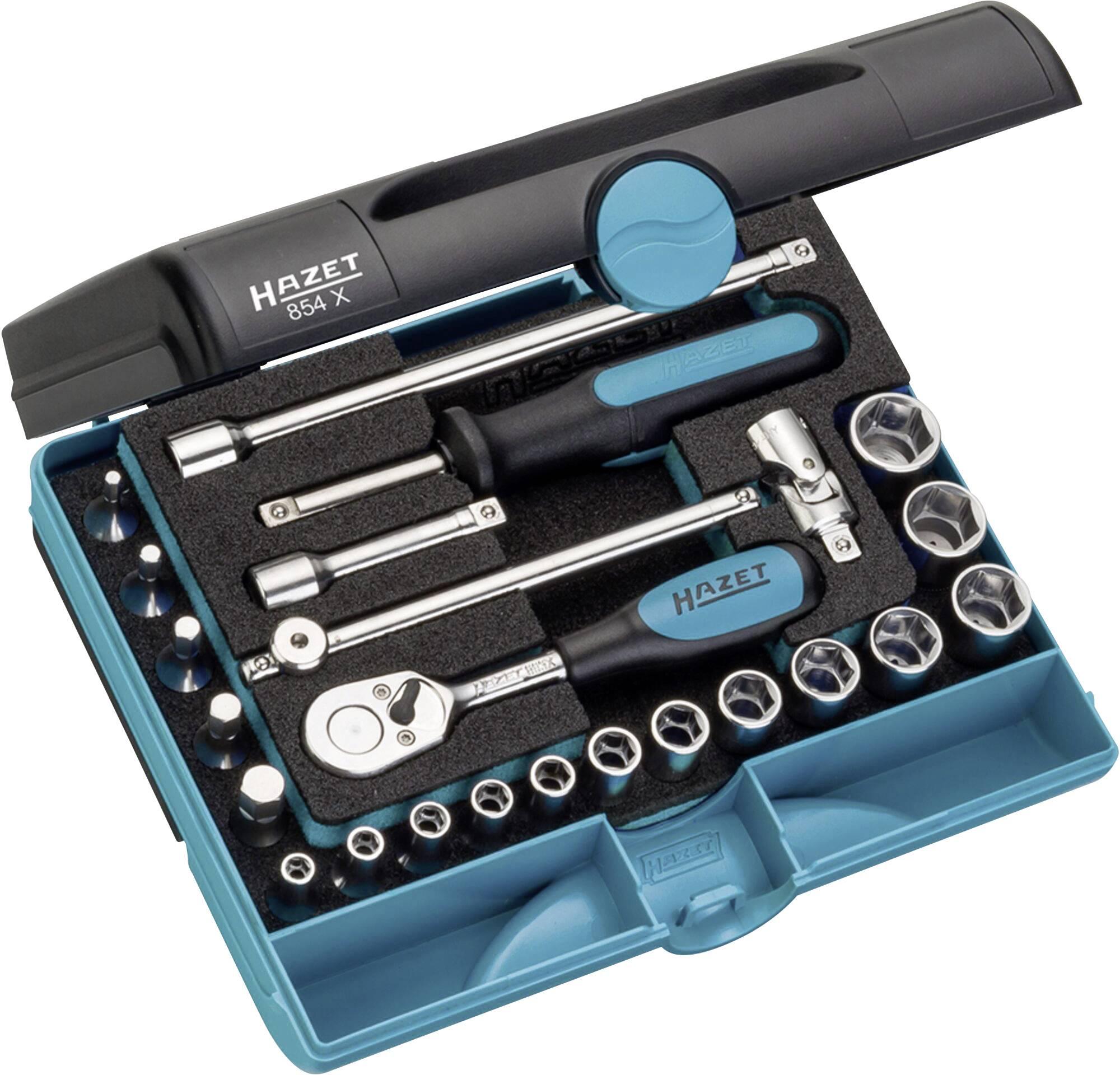 """Sada nástrčných klíčů Hazet, 6,3 mm (1/4""""), 24 ks"""