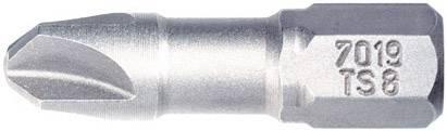 Bit Torq Wiha 7019 TS ZOT 3X25 TORQ-SET 26045, 25 mm, chróm-vanadiová oceľ, tvrdené, 1 ks