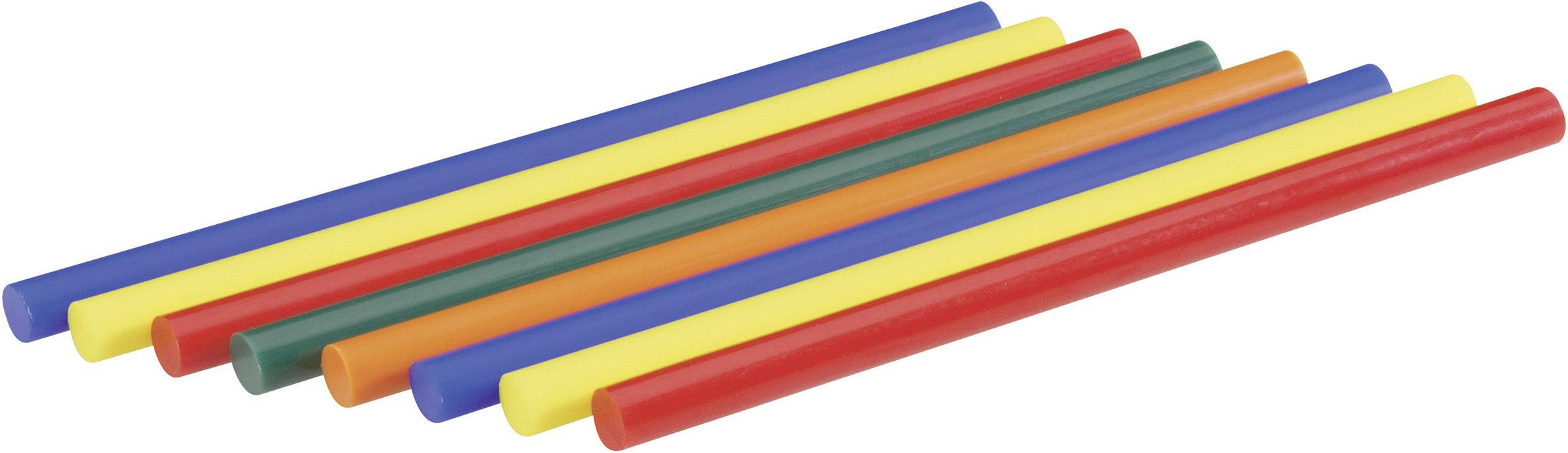 Lepiace tyčinky Steinel 047719, Ø 11 mm, 8 ks, rôzne farby triedené