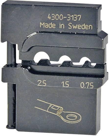 Krimpovací nástavec Pressmaster 4300-3137 4300-3137, 0.75 do 2.5 mm², ATT.LOV.FITS4_BRAND_PLIERS Pressmaster, MCT