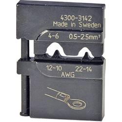 Krimpovací čelisti pro neizol. kabelové koncovky Pressmaster, 0,5-2,5/4,0-6,0 mm²