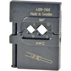 Krimpovací čelisti pro obráběné kontakty Pressmaster, 6/10 mm²