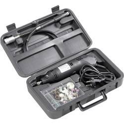 Mini vrtačka bruska Basetech 814677, 130 W, vč. příslušenství, kufřík, 80dílná