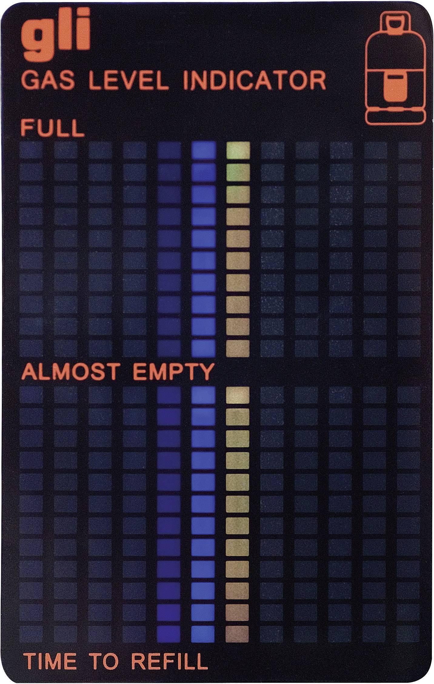 Indikátor stavu plynu
