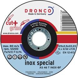 Brusný kotouč Dronco AS 46 T INOX, 1123270-100, Ø 125 mm