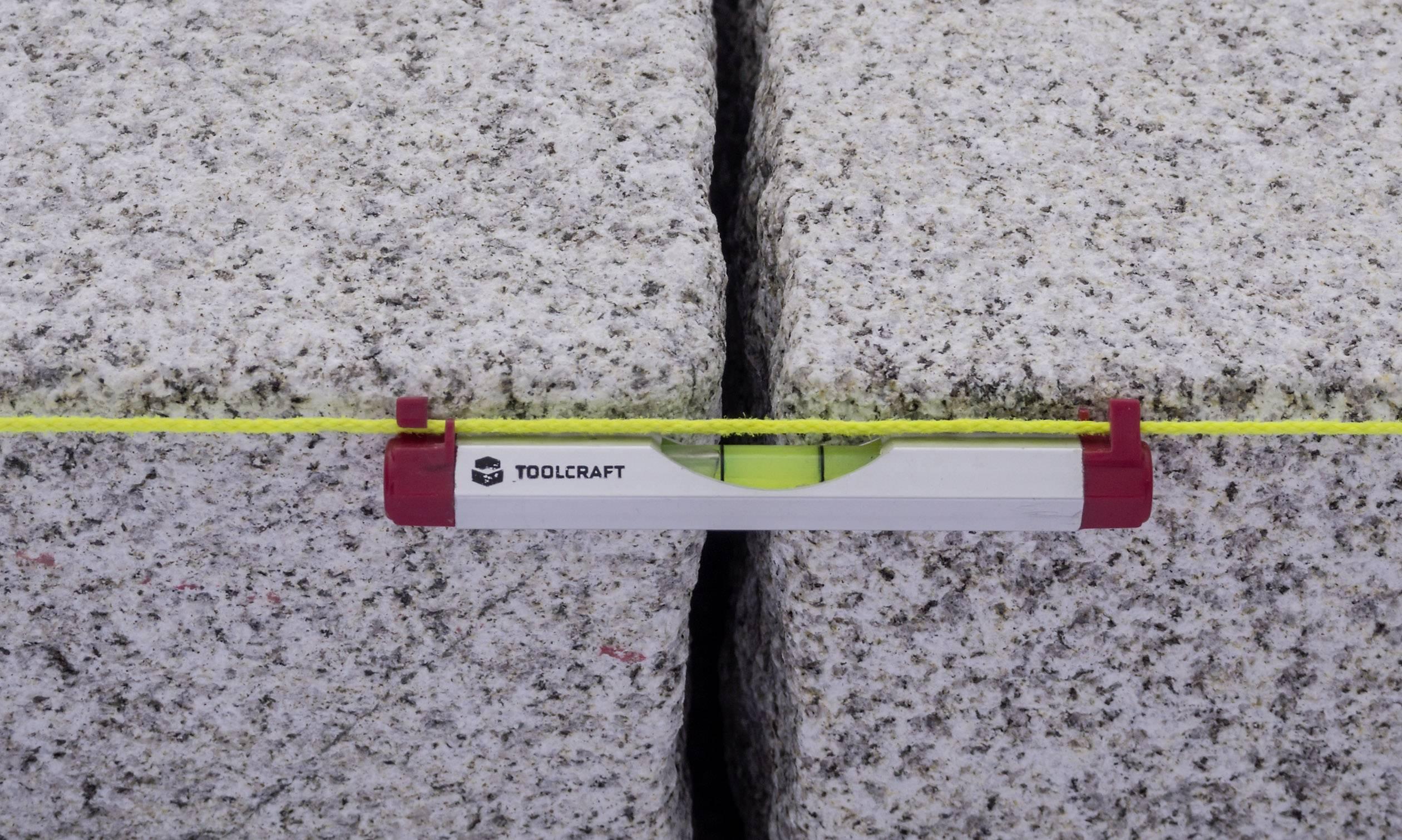 Vodováha Toolcraft 10 cm, 1 mm, 100 mm