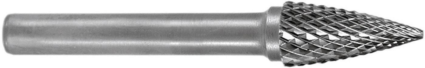 Kuželová fréza Ruko 116049, tvar G, lomený oblouk, 3 mm
