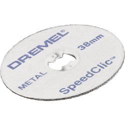 Sada rozbrušovacích kotoučů Dremel SpeedClic SC456, 2615S456JC, Ø 38 mm, 5 ks