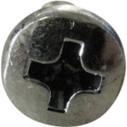 Šošovkové skrutky TOOLCRAFT 815322, N/A, M3, 6 mm, ocel, 100 ks