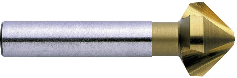 Kužeľový záhlbník HSS TiN Exact 05555, valcová stopka, 12.4 mm, 1 ks