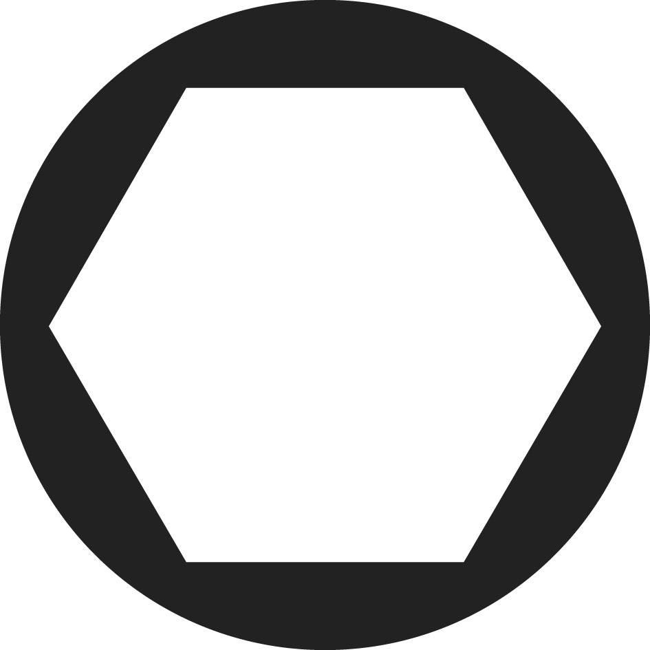 Šesťhranné matice TOOLCRAFT 815624, M3, oceľ, 100 ks