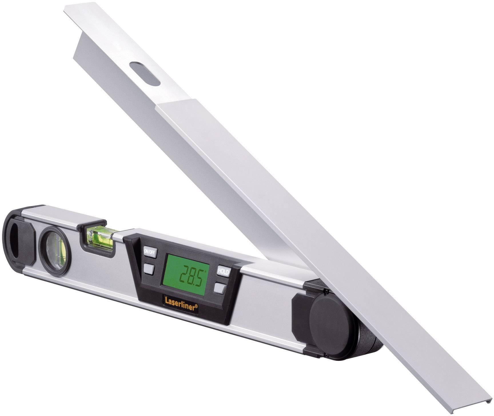 Elektronický úhloměr Laserliner ArcoMaster 075.130A, rozsah měření 0 až 220 °, kalibrace dle ISO
