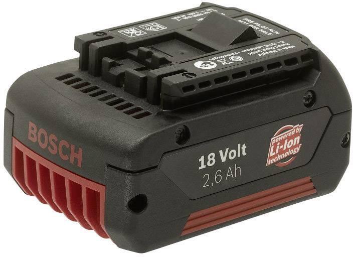 Akumulátor Bosch, Li-Ion, 18 V, 2.6 Ah, 2607336092