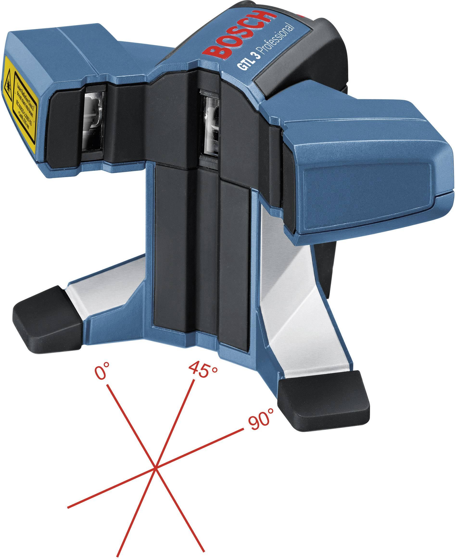 Bosch Professional GTL 3, dosah (max.): 20 m