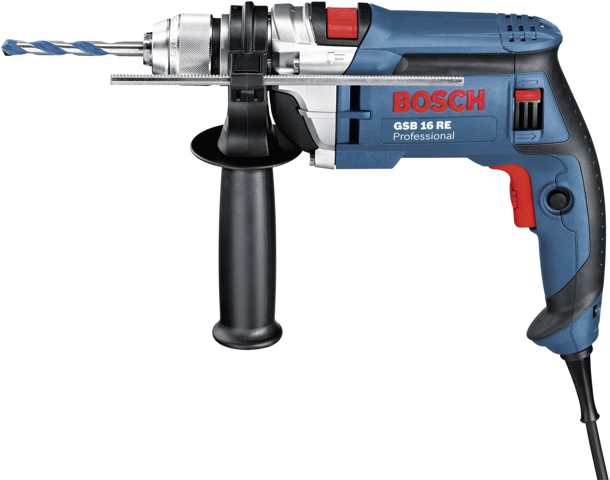 Príklepová vŕtačka Bosch Professional GSB 16 RE 0.601.14E.500, 750 W