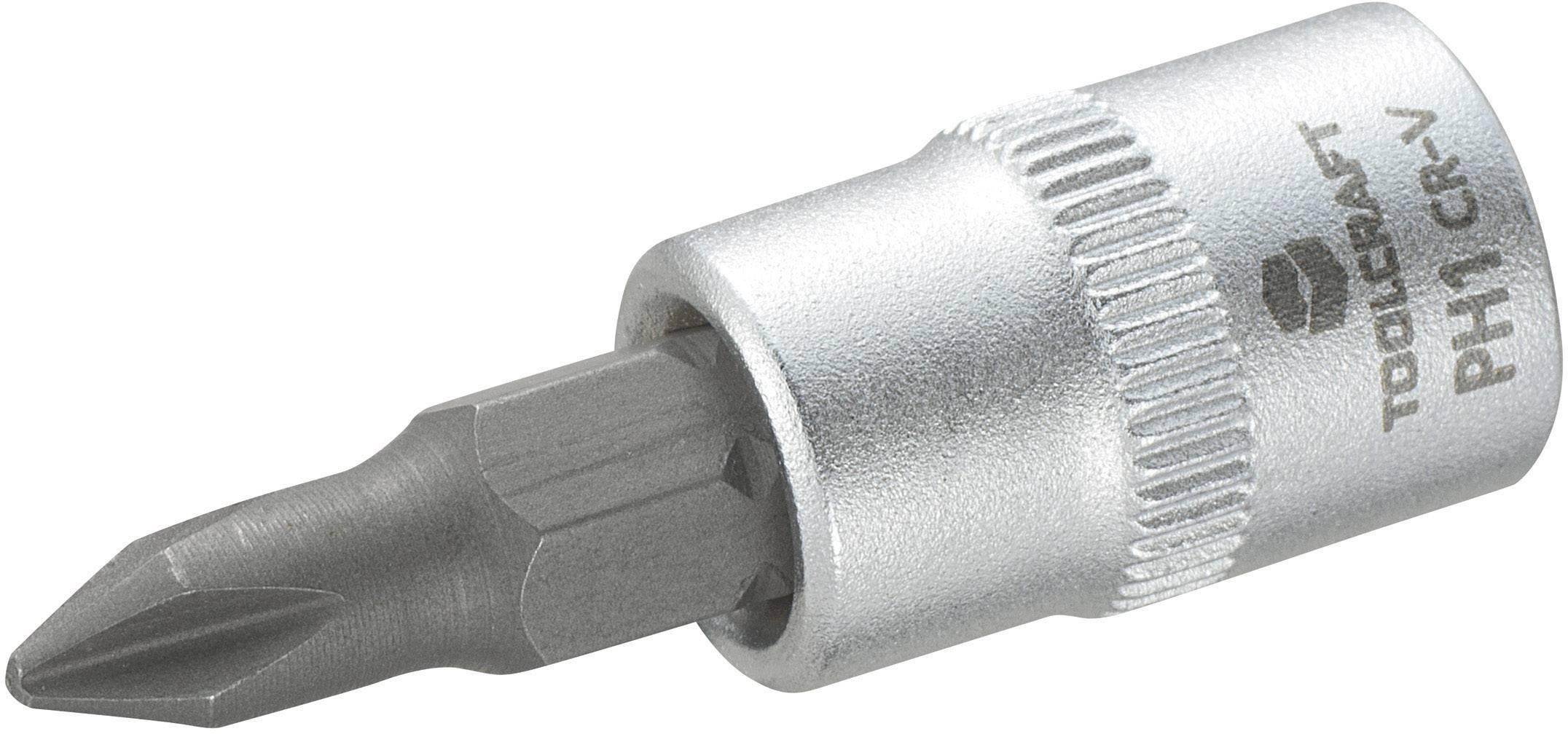 """Násada nástrčného klíče s křížovým bitem PH1, Toolcraft, 6,3 mm (1/4"""")"""