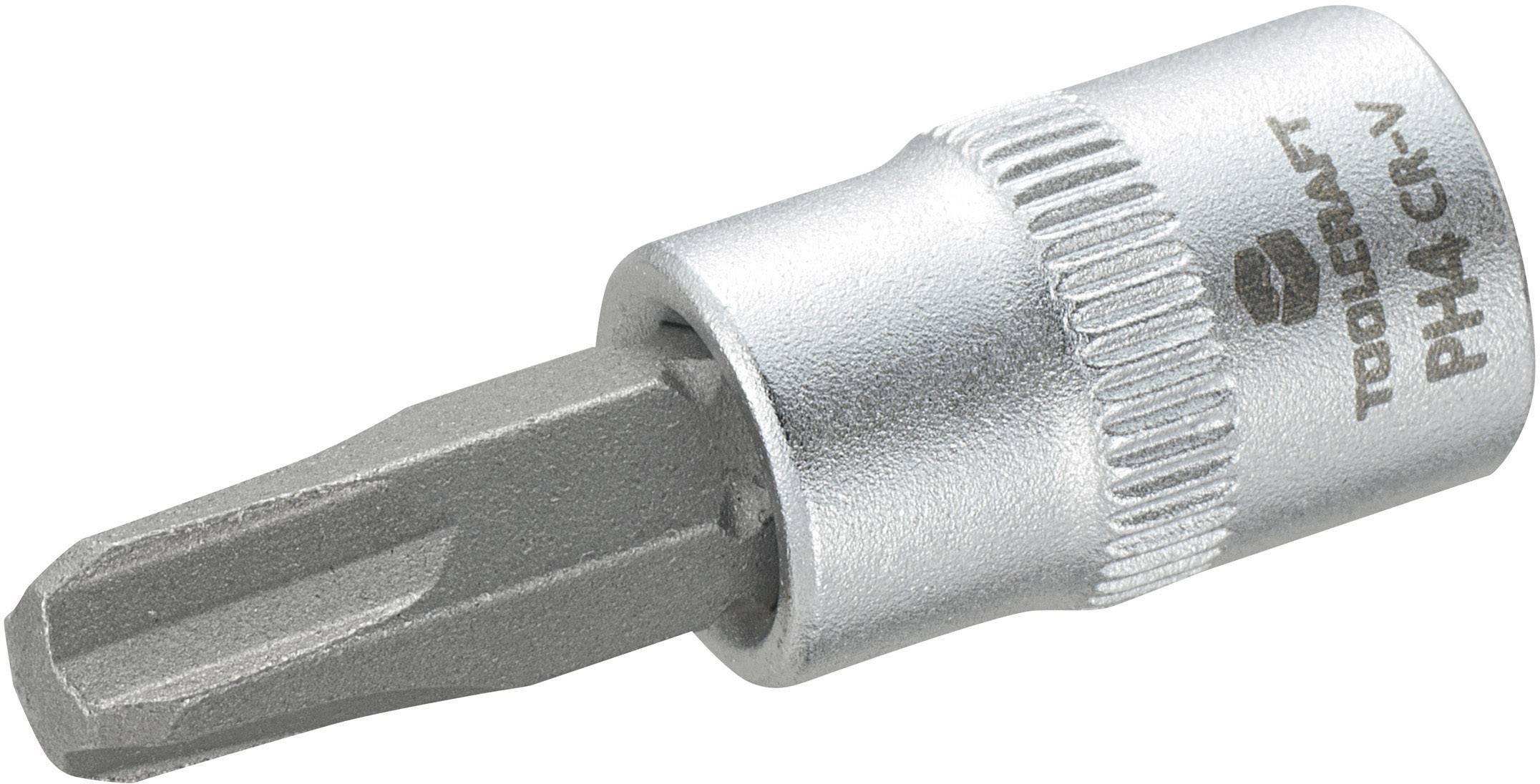 """Násada nástrčného klíče s křížovým bitem PH4, Toolcraft, 6,3 mm (1/4"""")"""