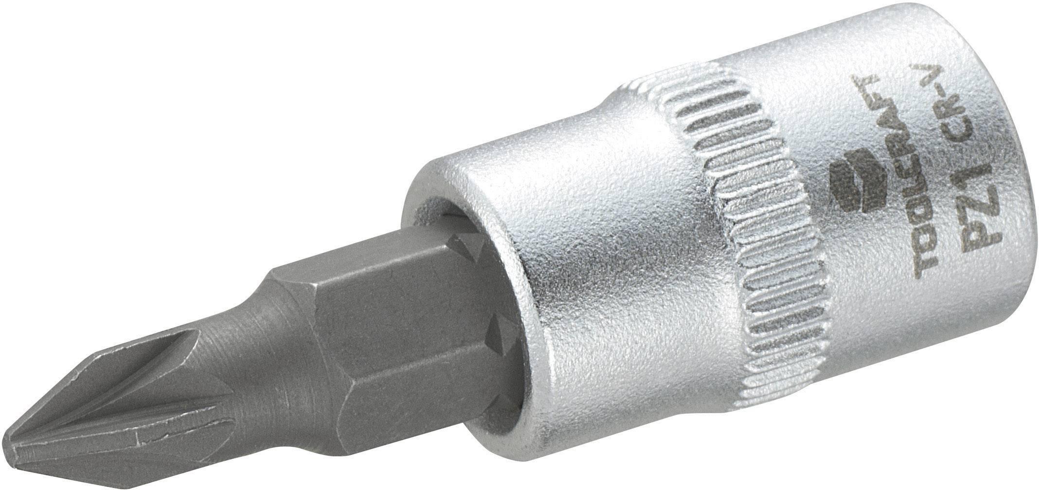 """Násada nástrčného klíče s křížovým bitem PZ1, Toolcraft, 6,3 mm (1/4"""")"""