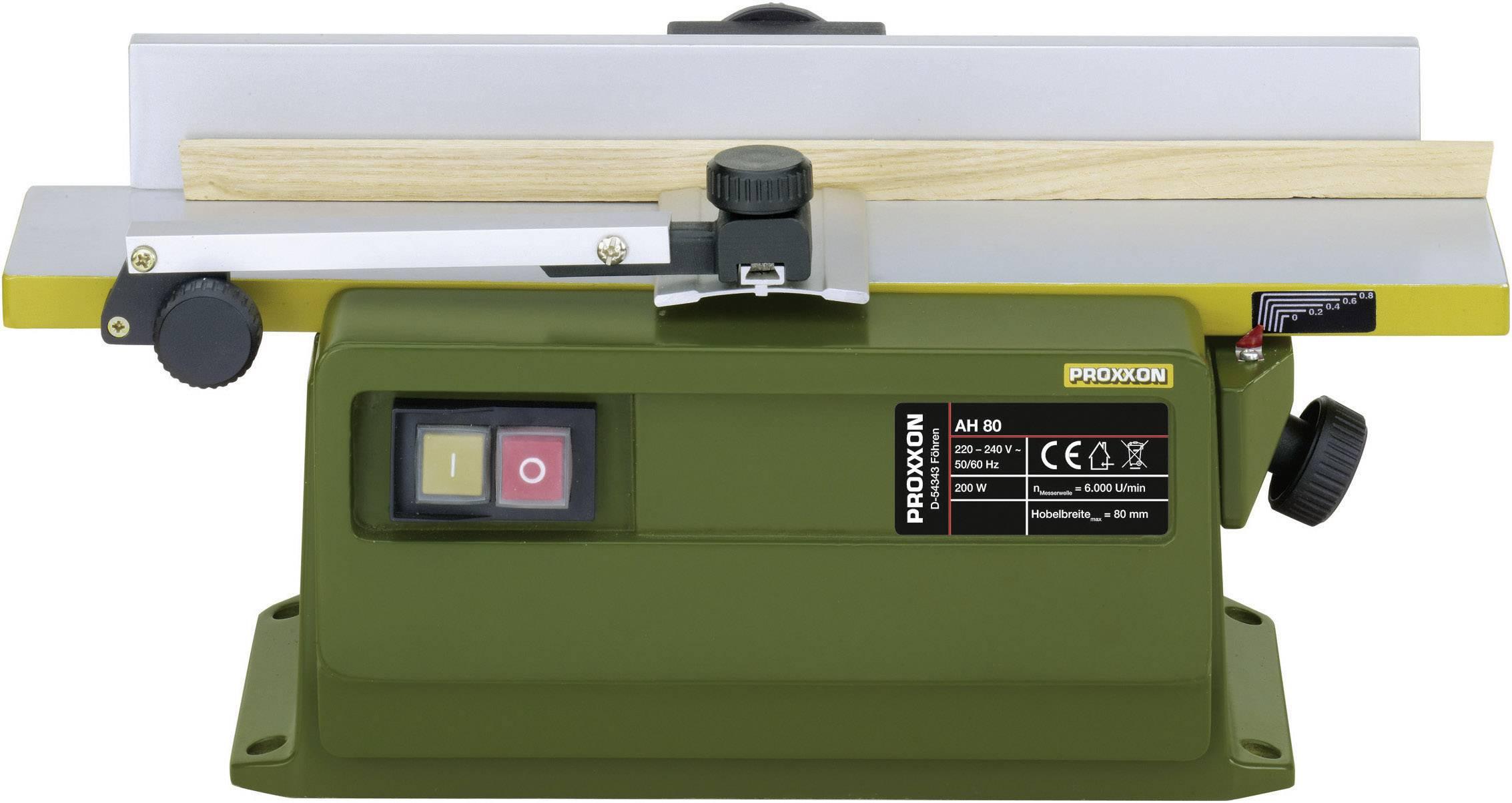 Mobilní hoblovka / fréza, Proxxon Micromot AH 80