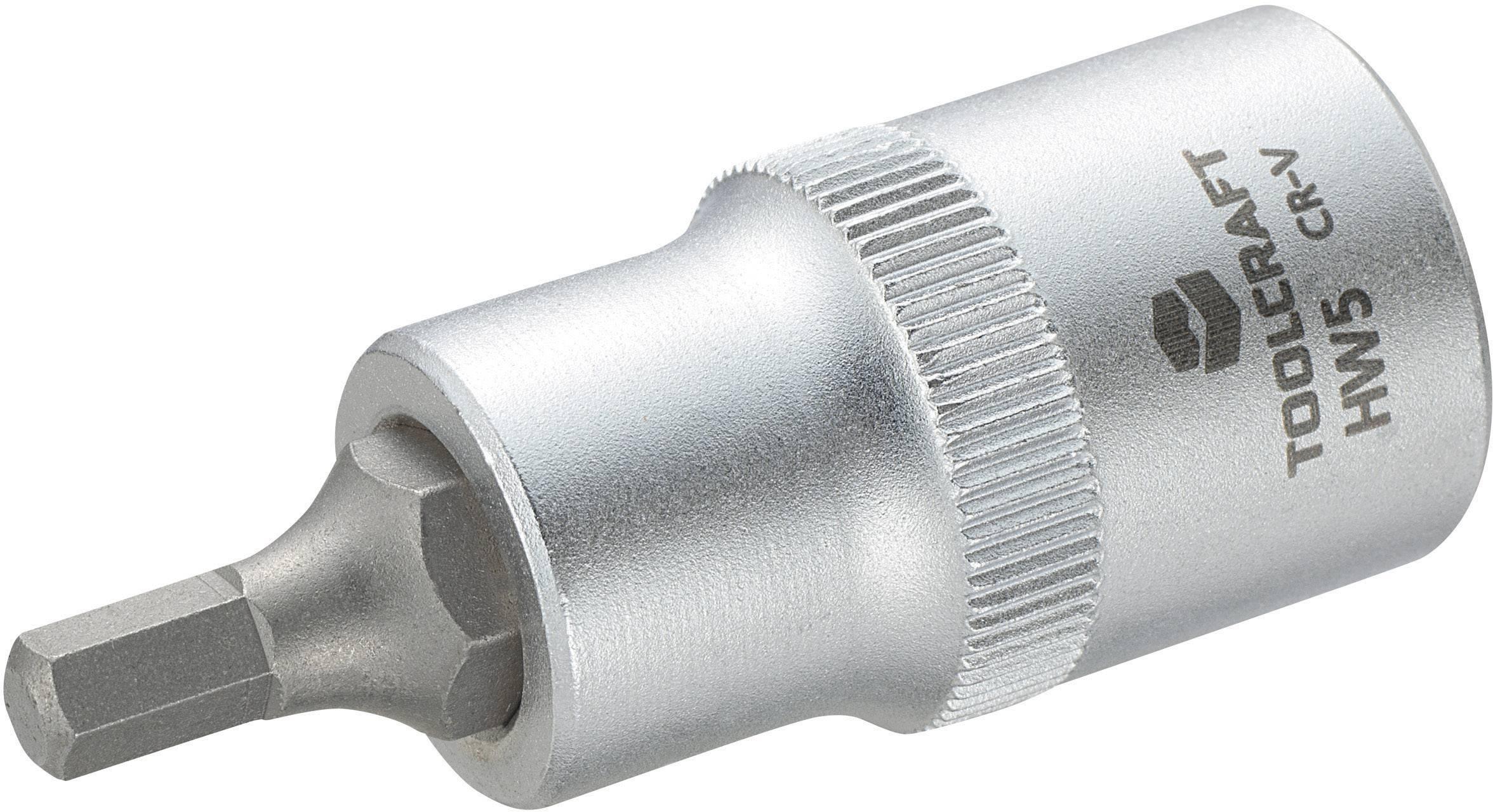 """Násada nástrčného klíče s šestihranným bitem, Toolcraft 816154, 12,5 mm (1/2"""")"""