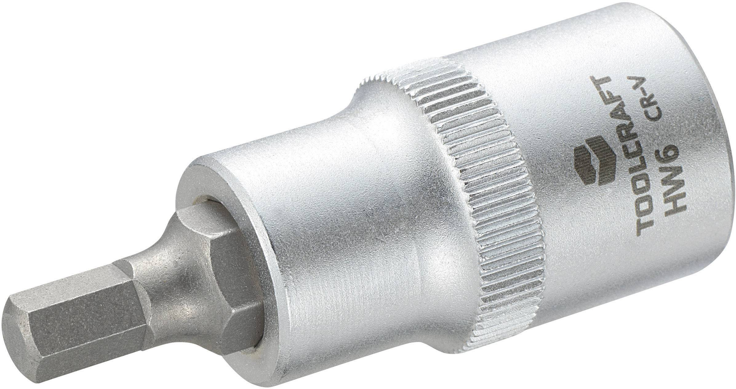 """Násada nástrčného klíče s šestihranným bitem, Toolcraft 816156, 12,5 mm (1/2"""")"""