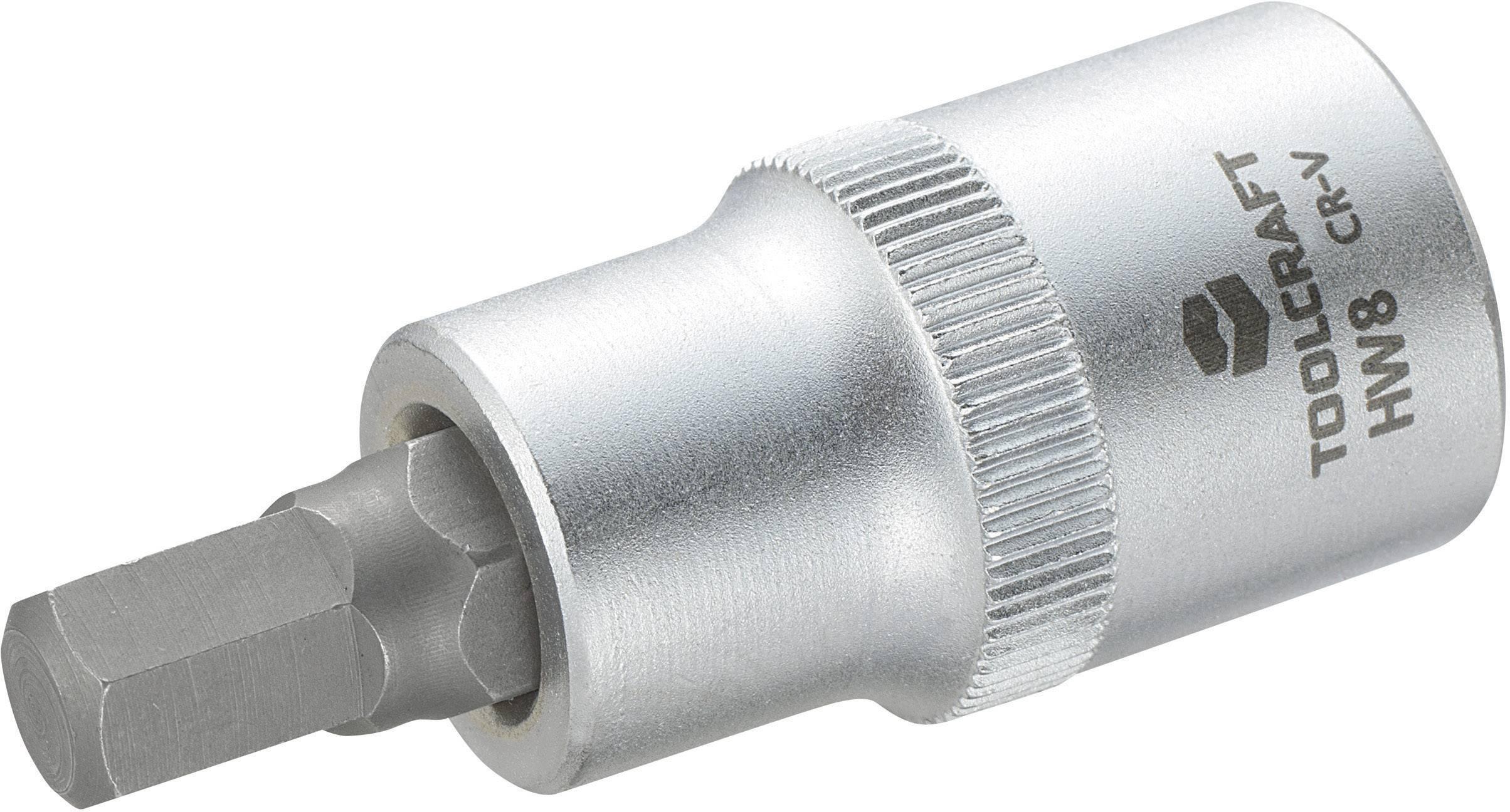 """Násada nástrčného klíče s šestihranným bitem, Toolcraft 816158, 12,5 mm (1/2"""")"""