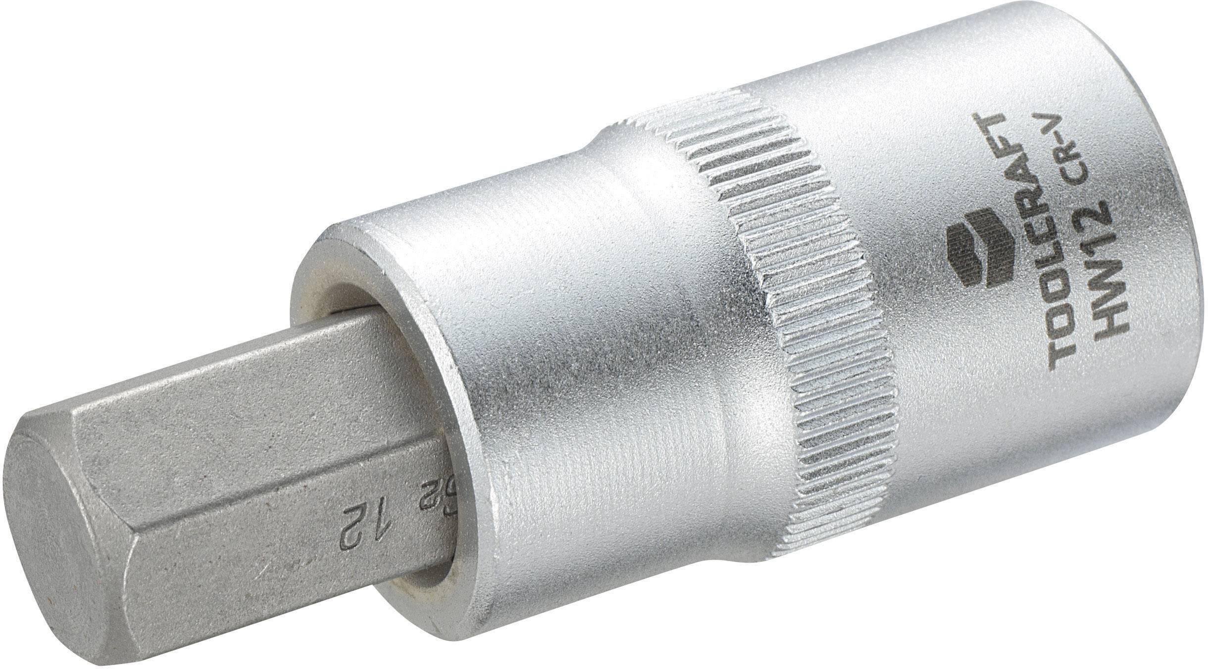 """Násada nástrčného klíče s šestihranným bitem, Toolcraft 816160, 12,5 mm (1/2"""")"""