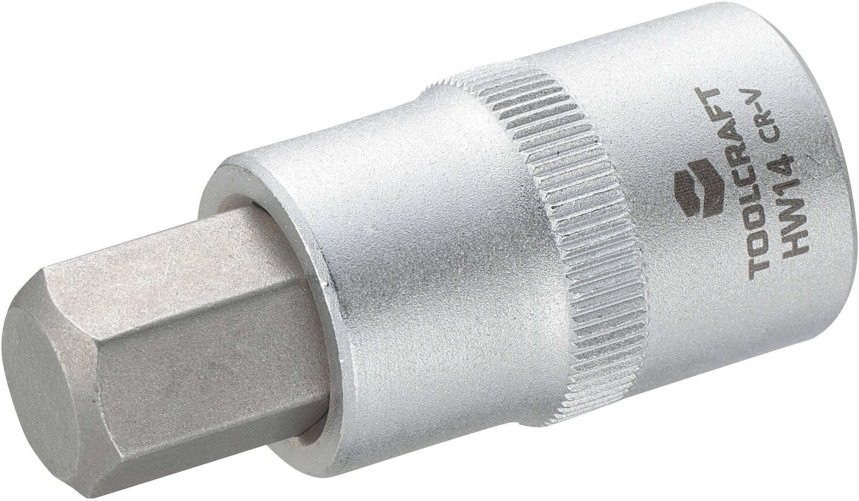 """Násada nástrčného klíče s šestihranným bitem, Toolcraft 816161, 12,5 mm (1/2"""")"""