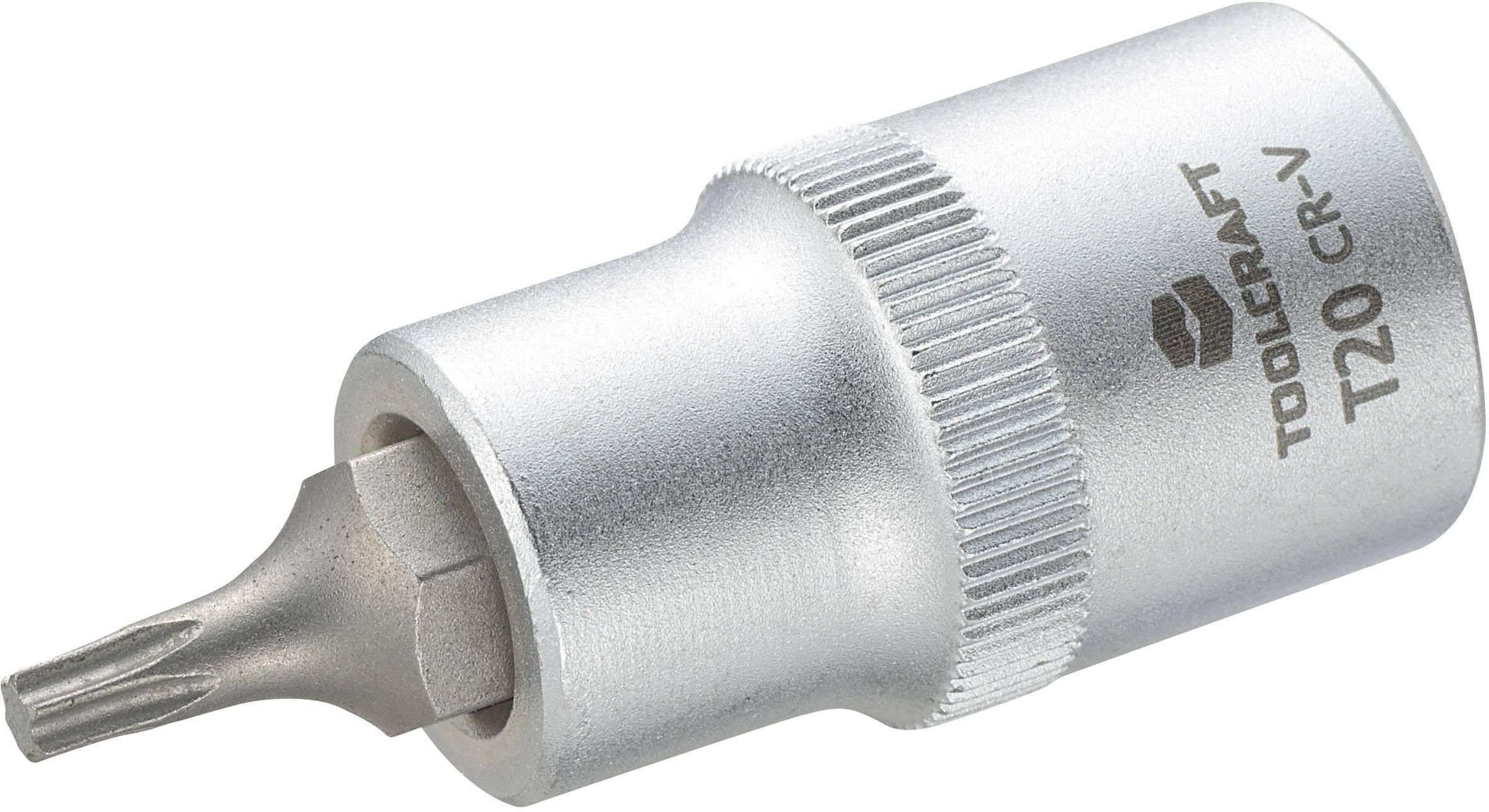 """Násada nástrčného klíče s T profilem, Toolcraft, 12,5 mm (1/2""""), T20"""