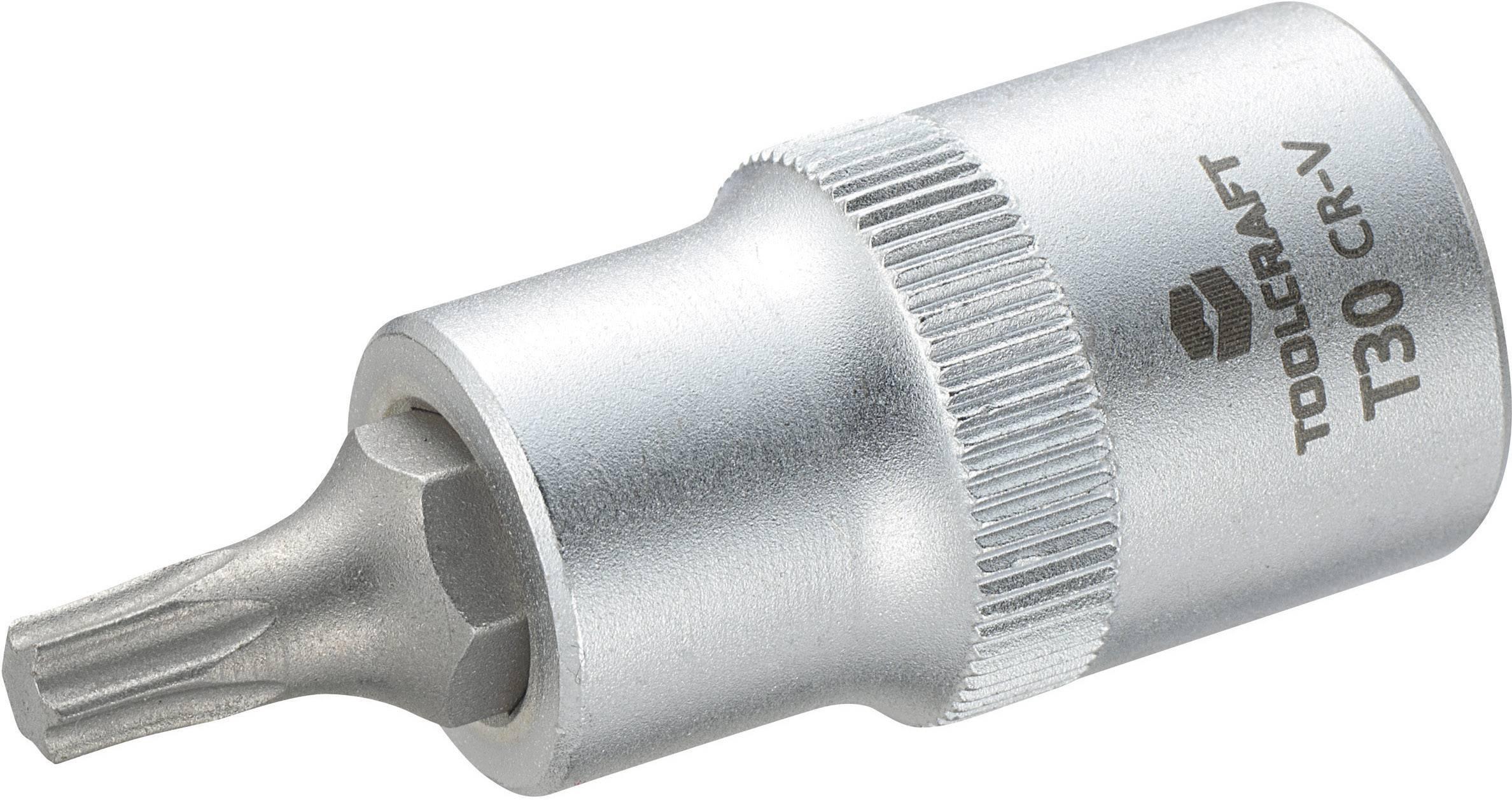 """Násada nástrčného klíče s T profilem T25, Toolcraft, 12,5 mm (1/2""""), T30"""