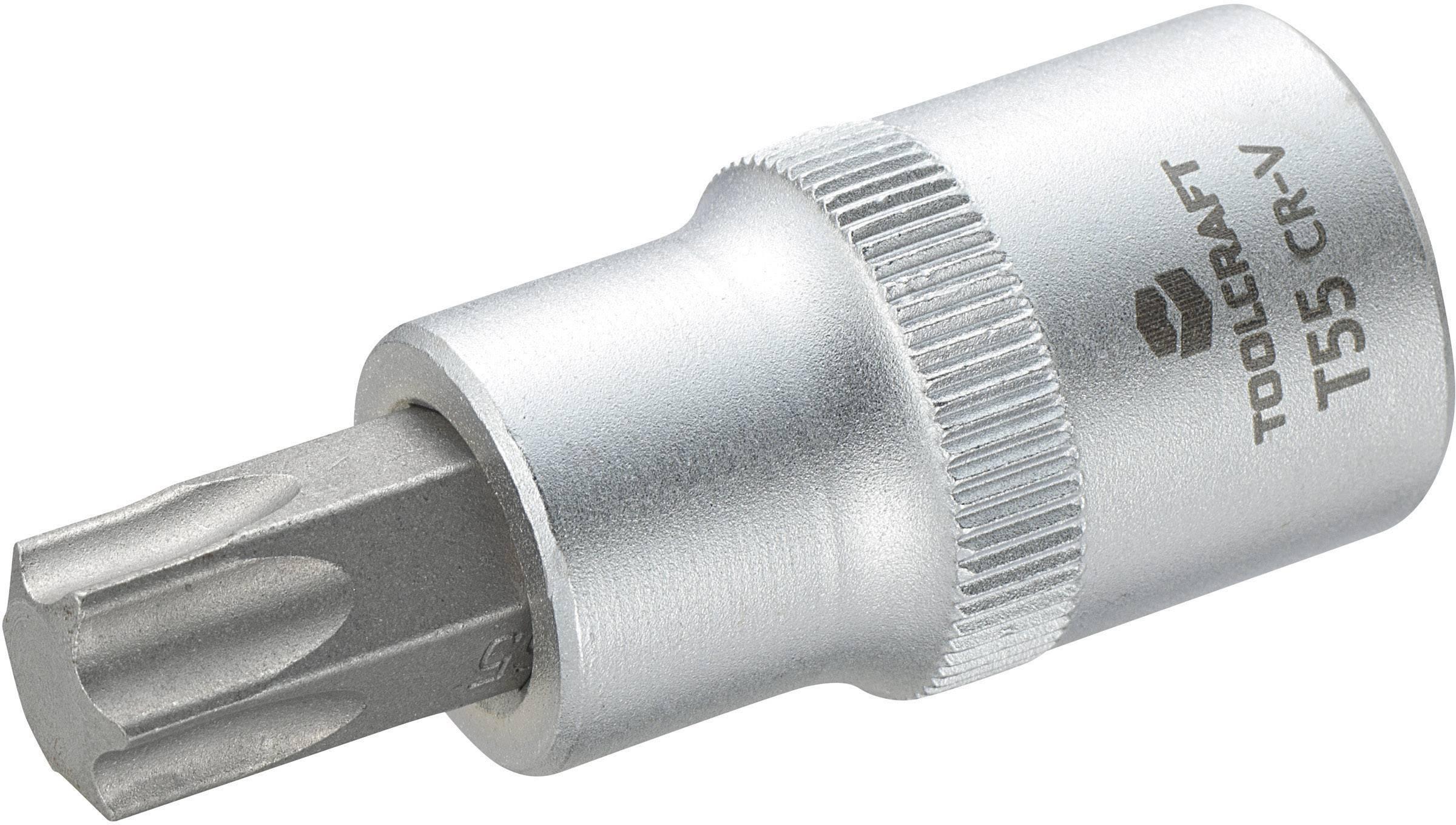 """Násada nástrčného klíče s T profilem T25, Toolcraft, 12,5 mm (1/2""""), T55"""