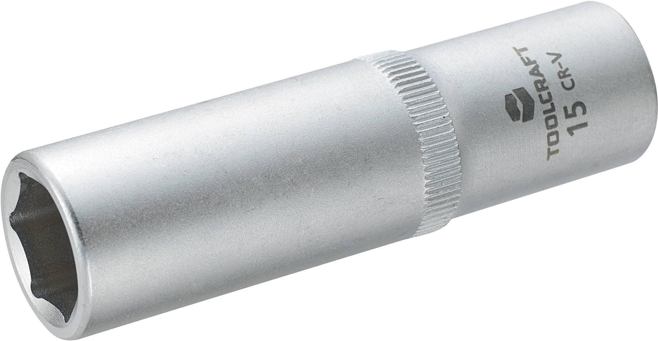 """Násada nástrčného klíče Toolcraft, 12,5 mm (1/2""""), velikost klíče 15 mm"""