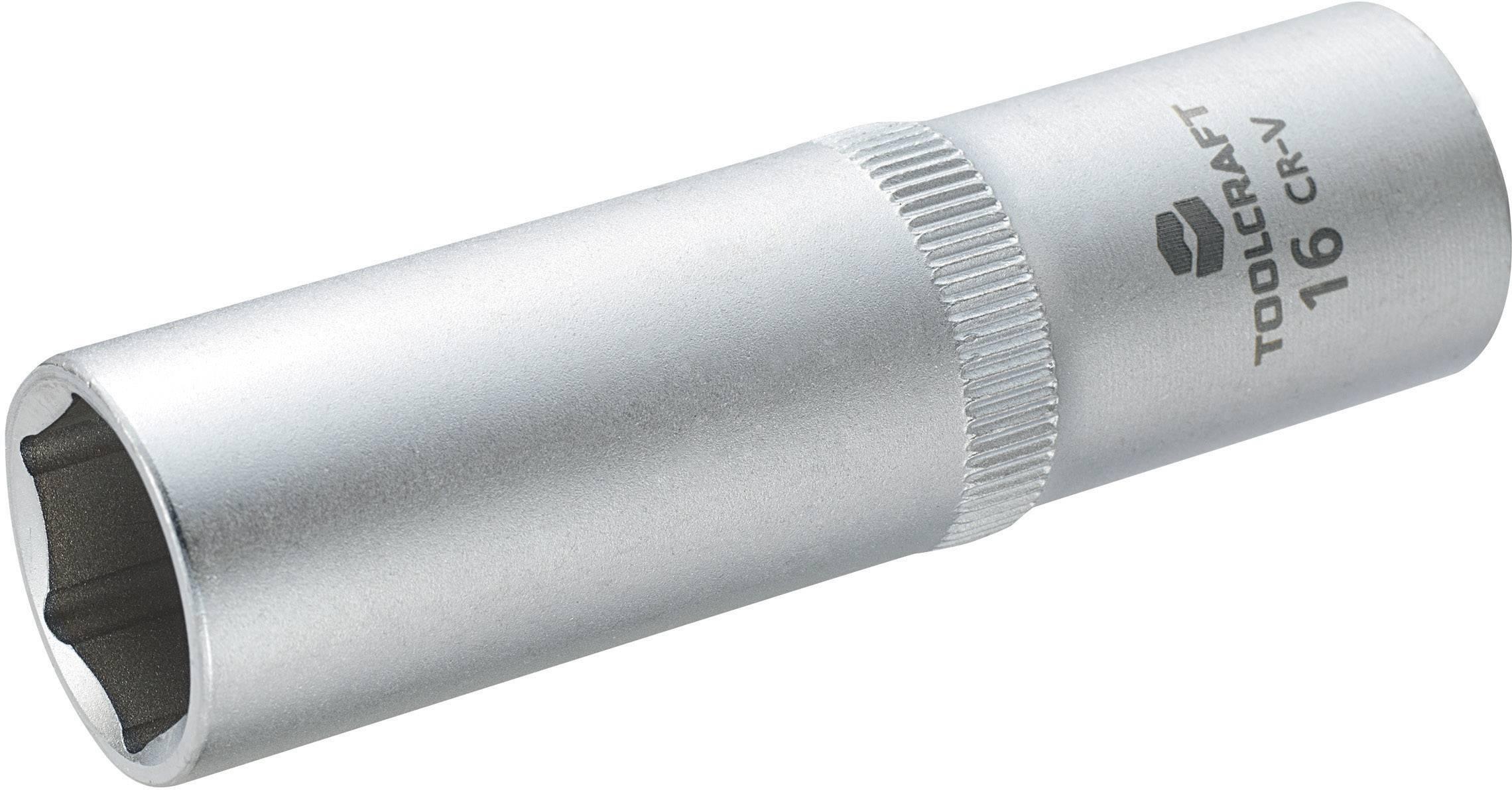 """Násada nástrčného klíče Toolcraft, 12,5 mm (1/2""""), velikost klíče 16 mm"""