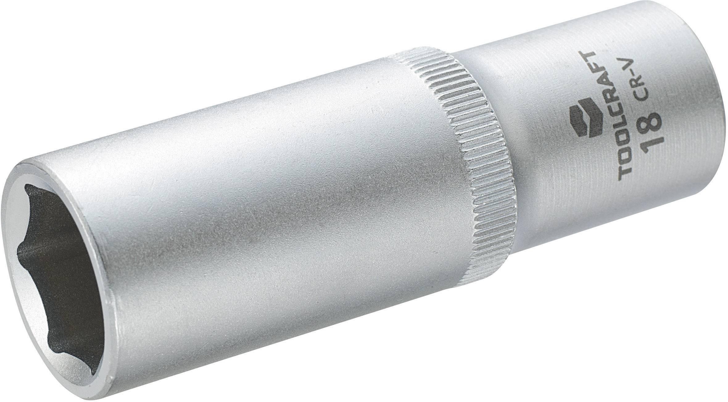 """Násada nástrčného klíče Toolcraft, 12,5 mm (1/2""""), velikost klíče 18 mm"""