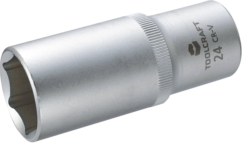 """Násada nástrčného klíče Toolcraft, 12,5 mm (1/2""""), velikost klíče 24 mm"""