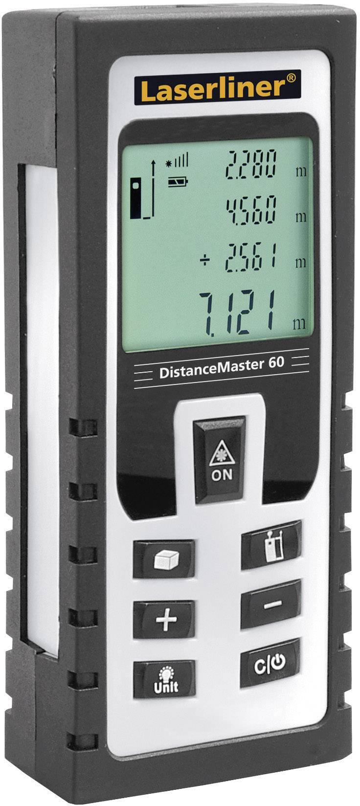 Laserový měřič vzdálenosti Laserliner DistanceMaster 60 080.946A, rozsah měření (max.) 60 m