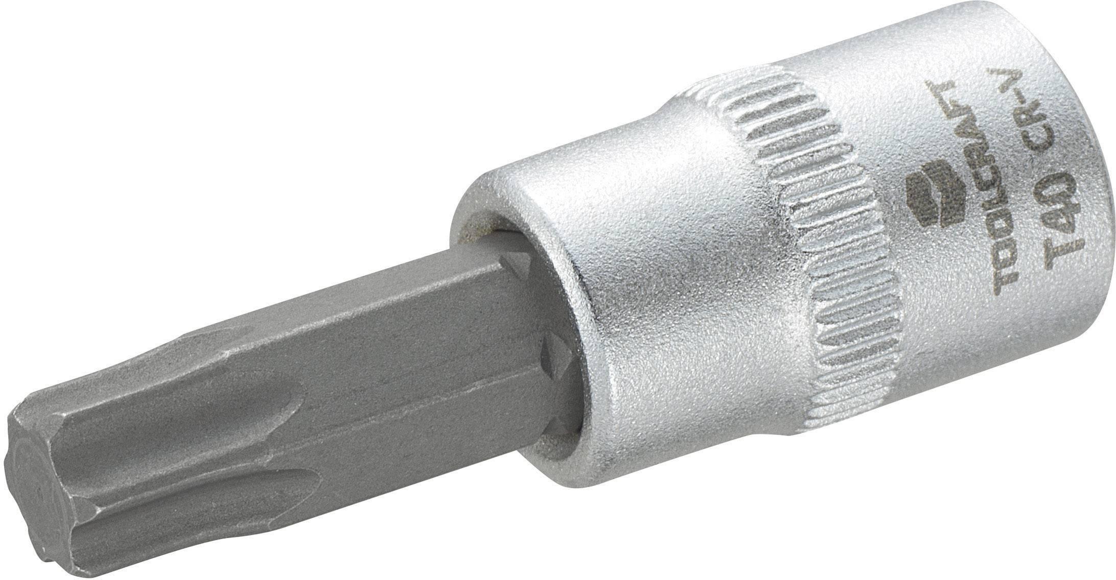 """Násada nástrčného klíče s T profilem T40, Toolcraft, 6,3 mm (1/4"""")"""