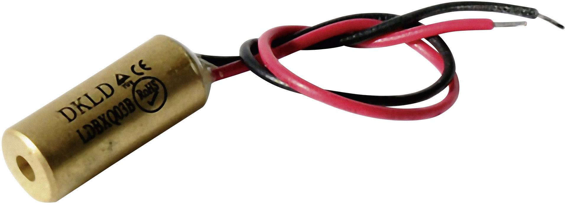 Laserový modul Laserfuchs 70108507, bodová, 0.4 mW