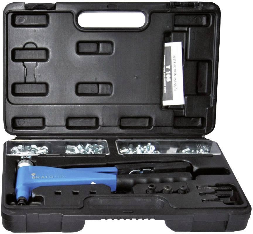Kufřík s nýtovacími kleštěmi asadou trhacích nýtů Bralo TR -105, 265 mm