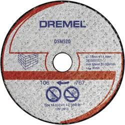Řezný kotouč na zdivo Dremel 2615S520JA, DSM 520(77 mm ), 2ks