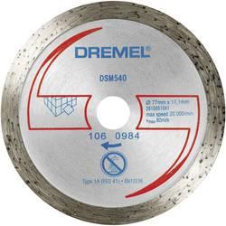 Dlaždičový diamantový rezací kotúč DSM 540 Dremel 2615S540JA, Ø 77 mm, 1 ks